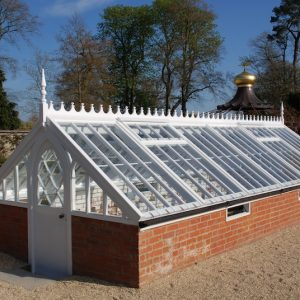 Wooden Frame Greenhouse Devon Joiners Carpentry